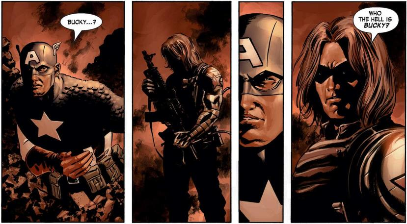 The Winter Soldier revealed