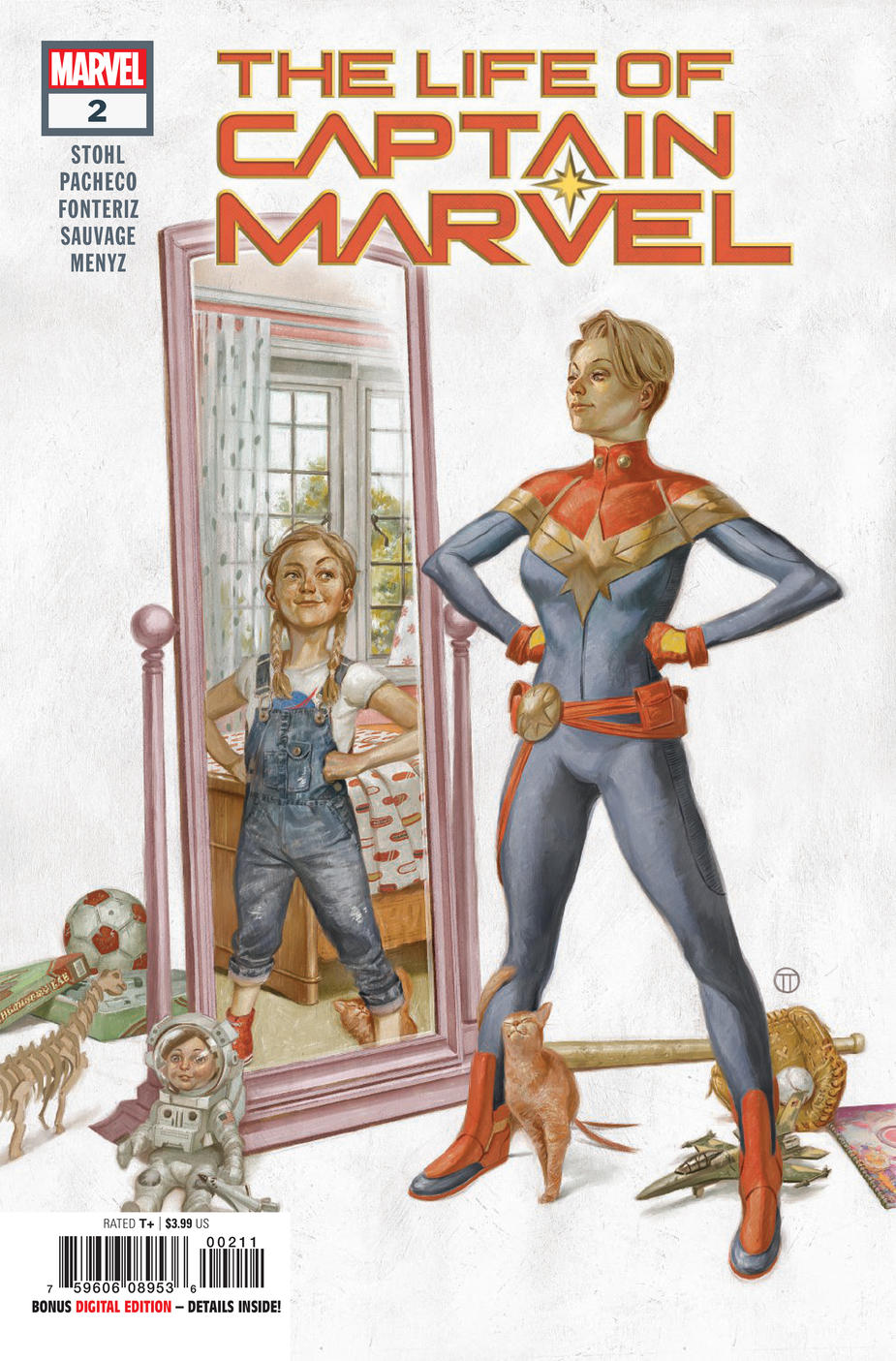 Cover of Captain Marvel 2
