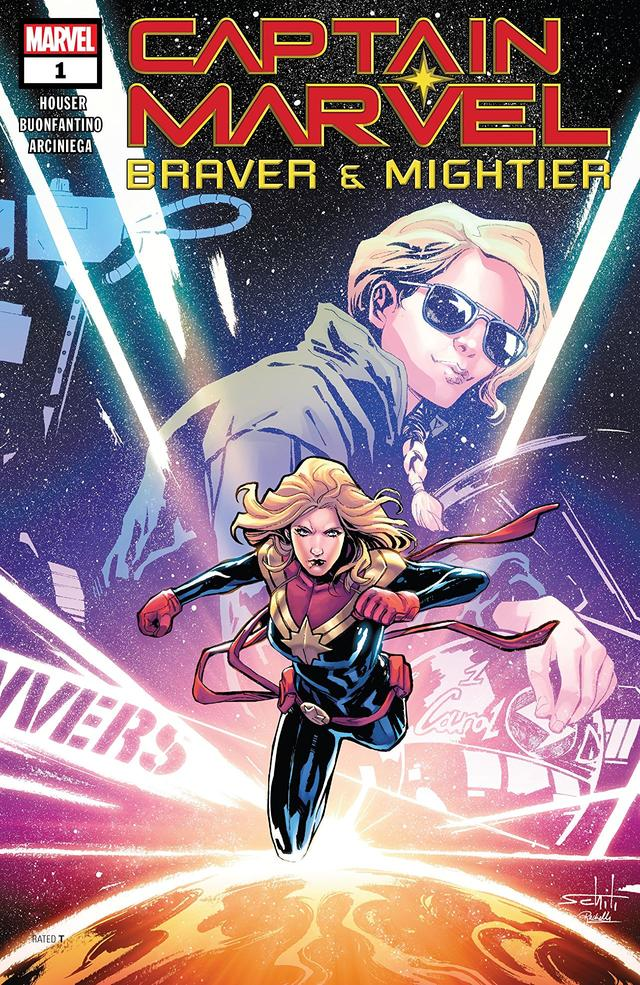 Captain Marvel: Braver and Mightier cover