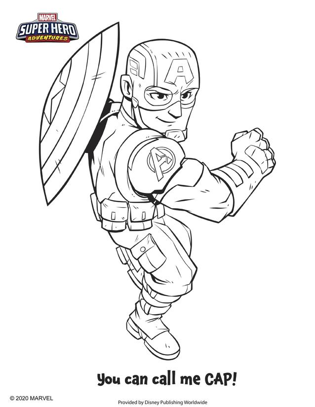 - Channel Your Inner Art Powers With 'Marvel Super Hero Adventures' Coloring  Pages Marvel