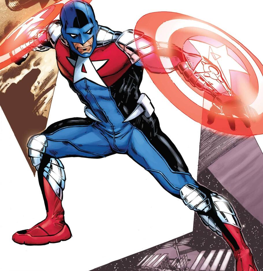 Cover to CAPTAIN AMERICA CORPS (2011) #5.