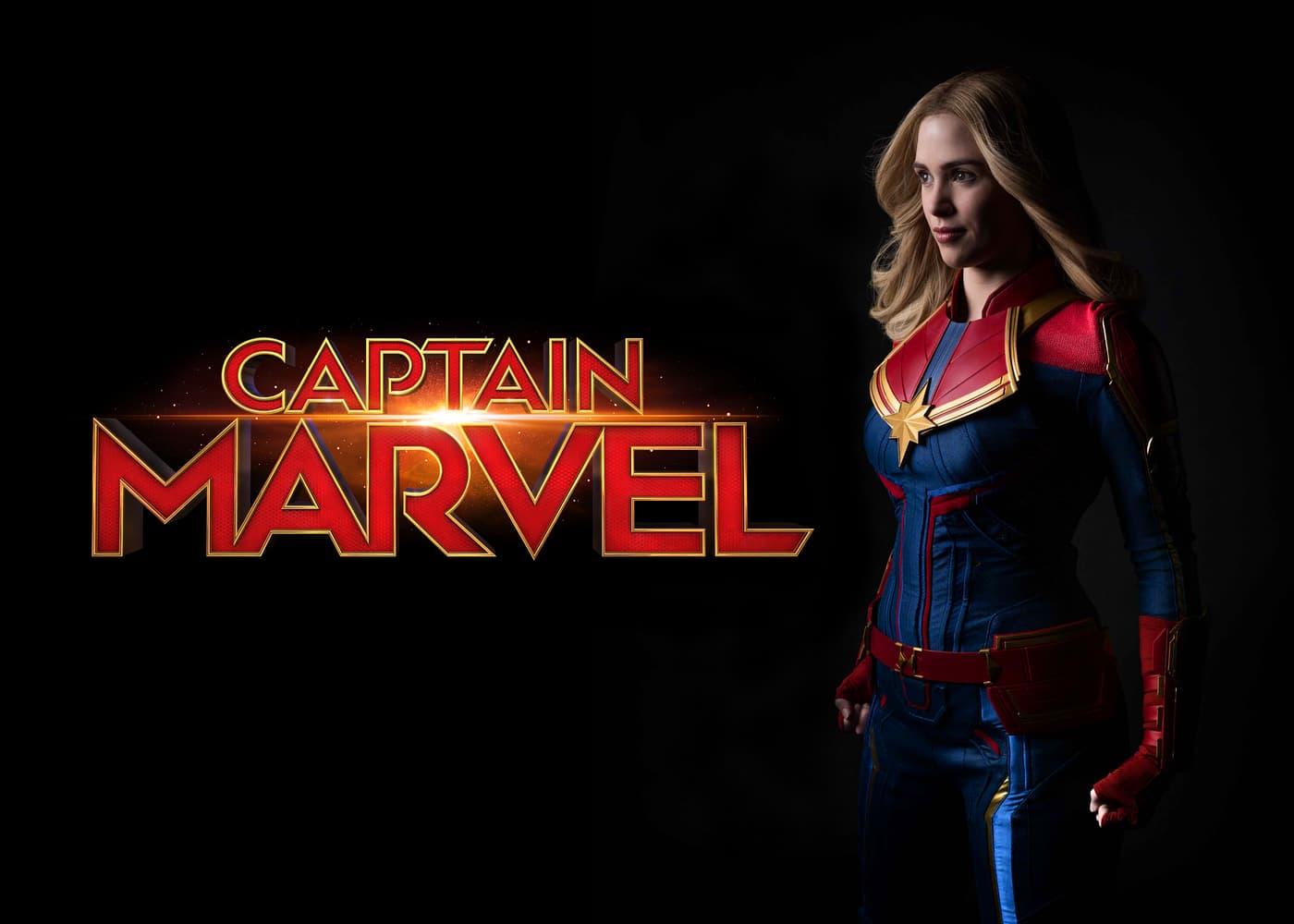 Captain Marvel Disney Parks