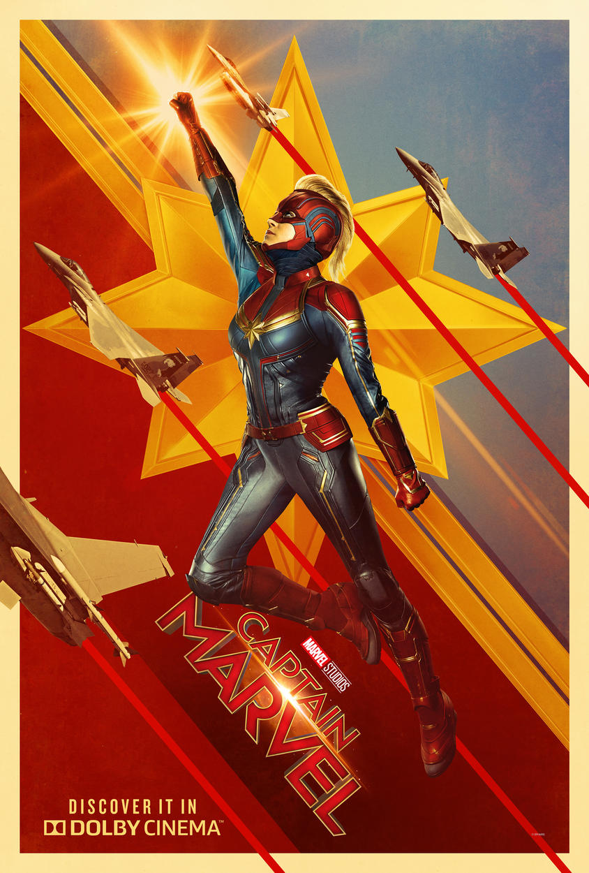 Dolby Cinema Exclusive Captain Marvel Poster