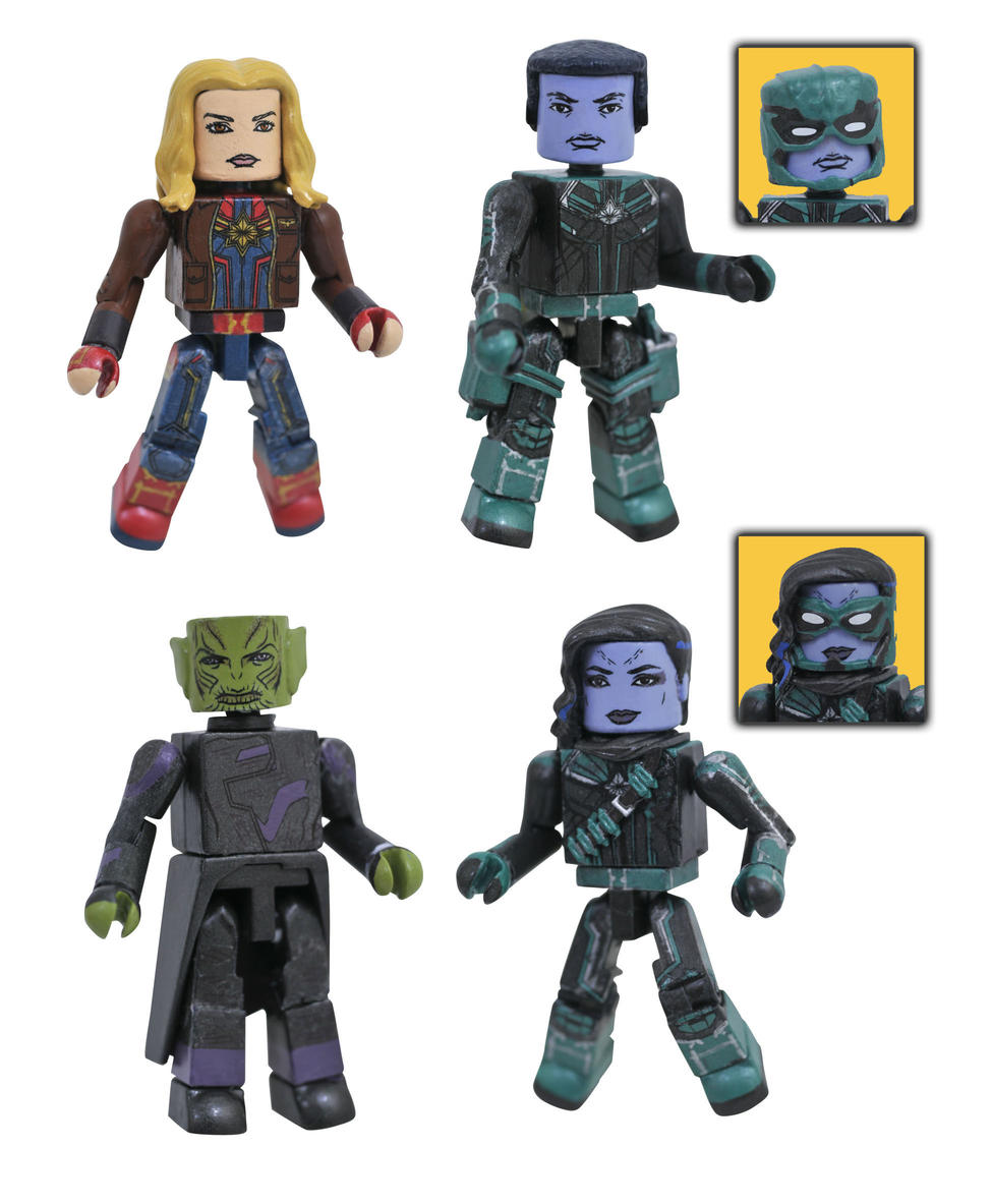 Captain Marvel Minimates  - box set