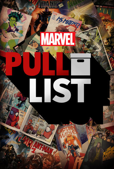 Marvel's The Pull List Digital Series Show Poster
