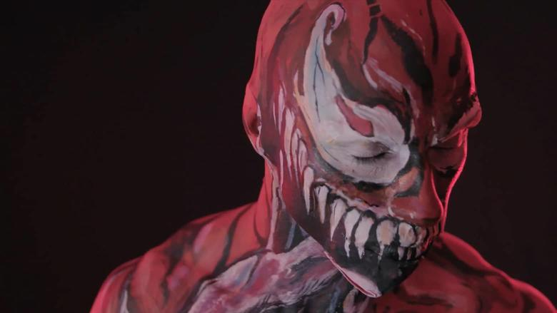 Cosplayer Eddie Pagan Makeup Artist Aria Ferraro Marvel Becoming Carnage
