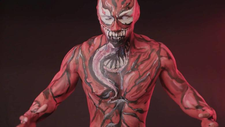 Cosplayer Eddie Pagan Makeup Artist Aria Ferraro Marvel Becoming Carnage