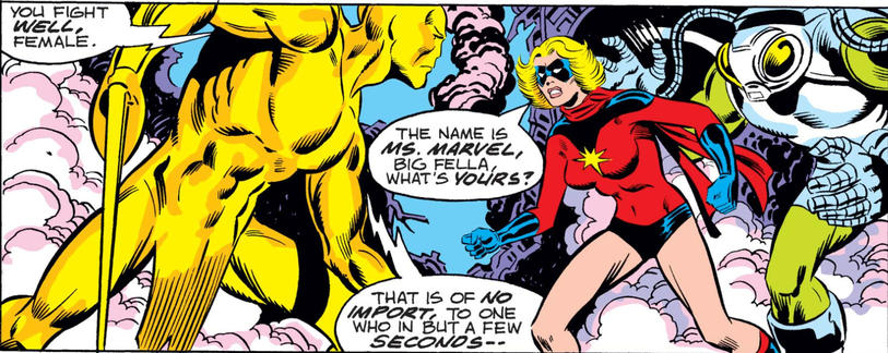 Ms. Marvel is the Name
