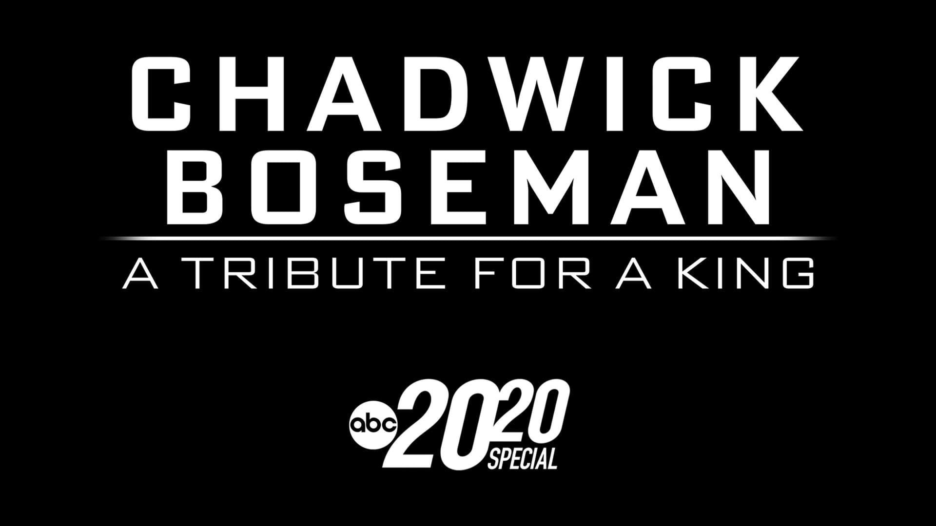 Chadwick Boseman - A Tribute for A King