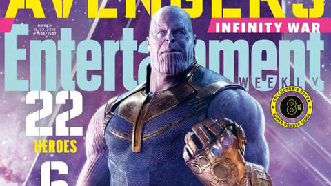Image for Entertainment Weekly Reveals 'Avengers: Infinity War' Covers