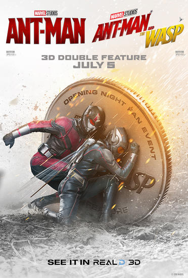 Ant-Man and the Wasp RealD 3D exclusive poster