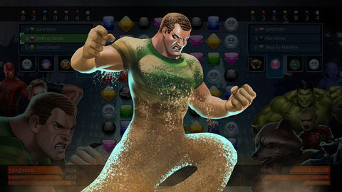 Image for Piecing Together Marvel Puzzle Quest: Sandman