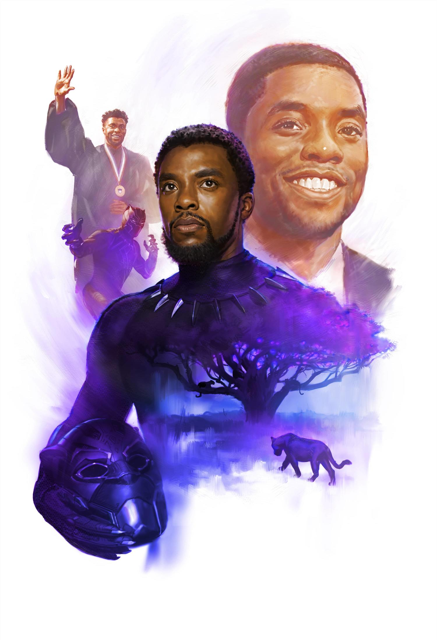Marvel Studios Pays Tribute to Chadwick Boseman with Piece From Ryan Meinerding | Marvel