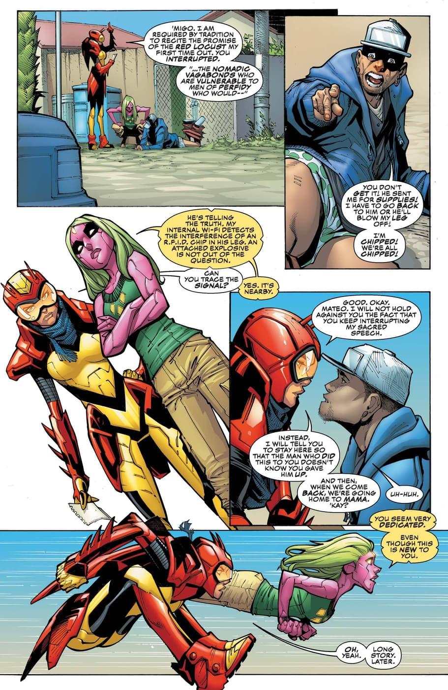 Red Locust (Fernanda Rodriguz) CHAMPIONS (2016) #9 Page 12