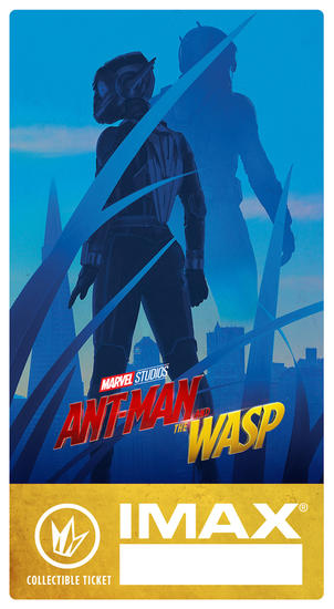 Ant-Man and the Wasp Regal IMAX Ticket Giveaway
