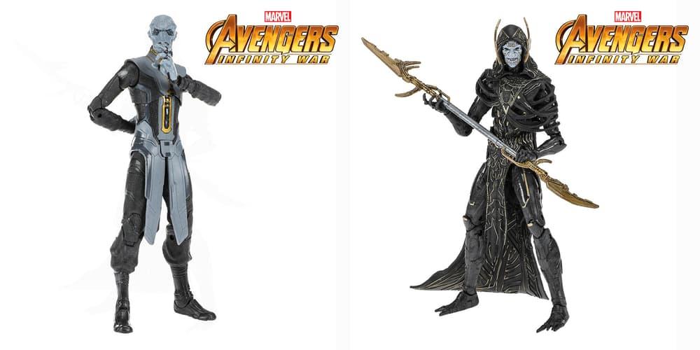 Marvel Legends Ebony Maw and Corvus Glaive Figures