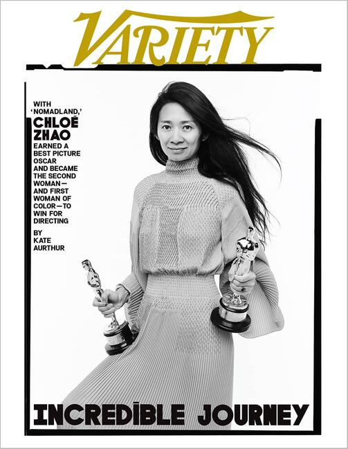 Chloé Zhao (Source: Variety/Andrew Eccles)