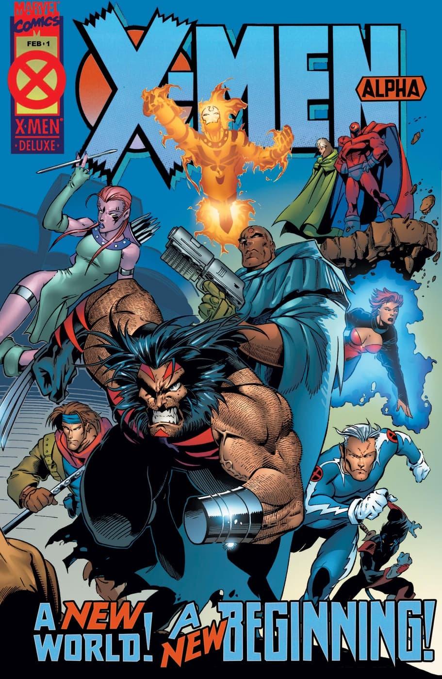 X-Men: Alpha (1995) #1