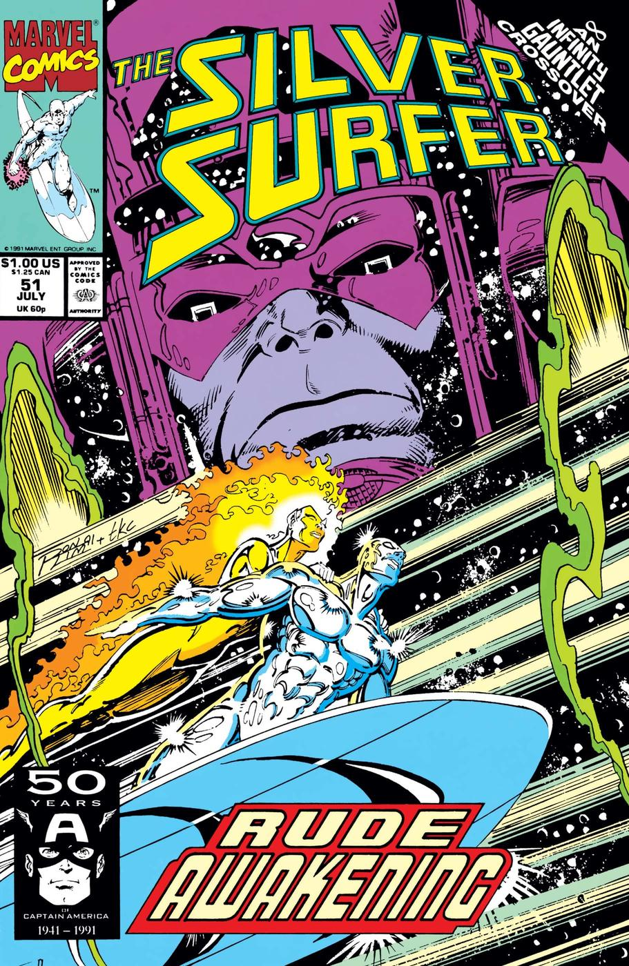 Revisiting Silver Surfer In The 90s Marvel