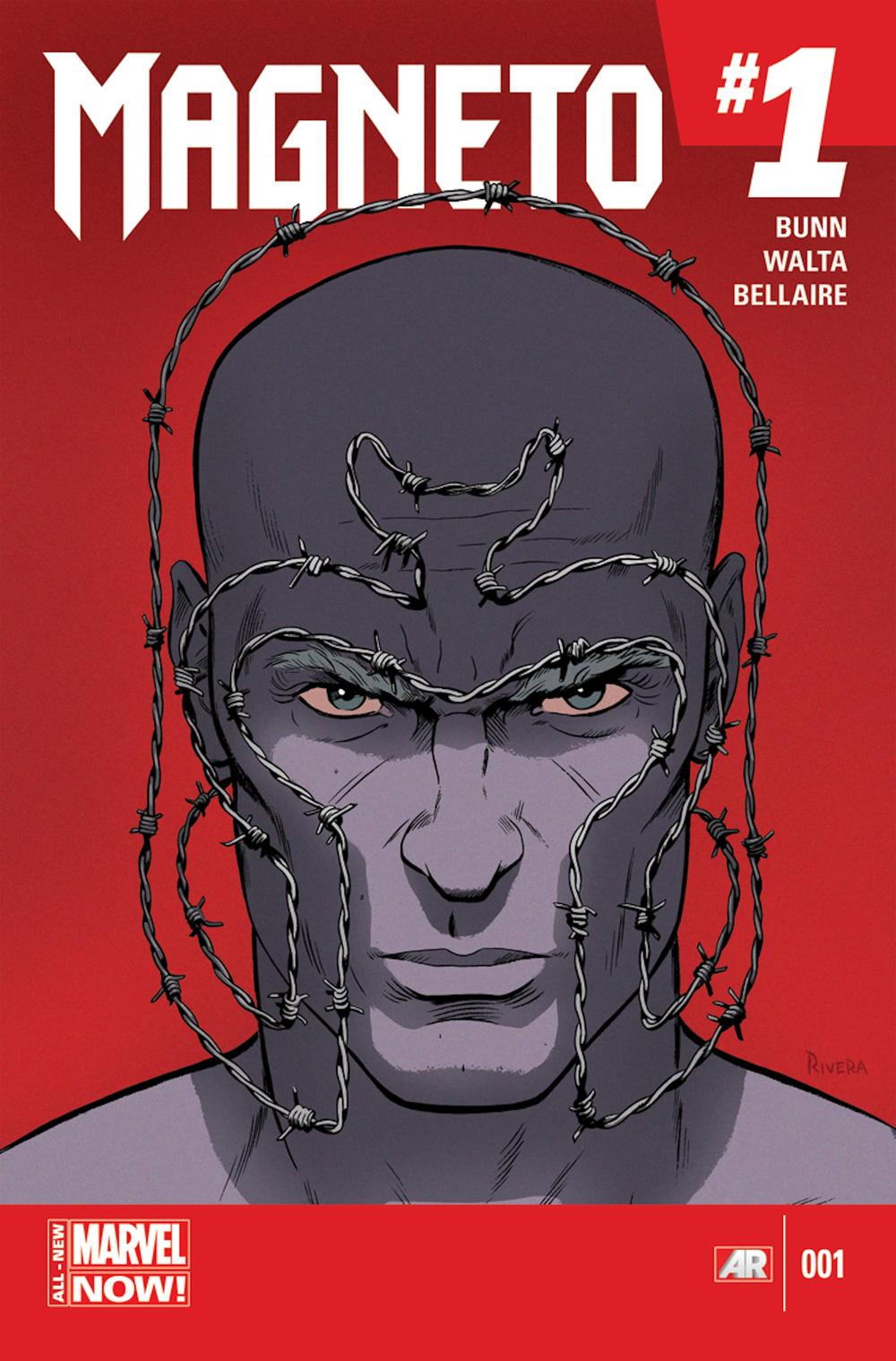 MAGNETO (2014) #1 cover by Paolo Rivera