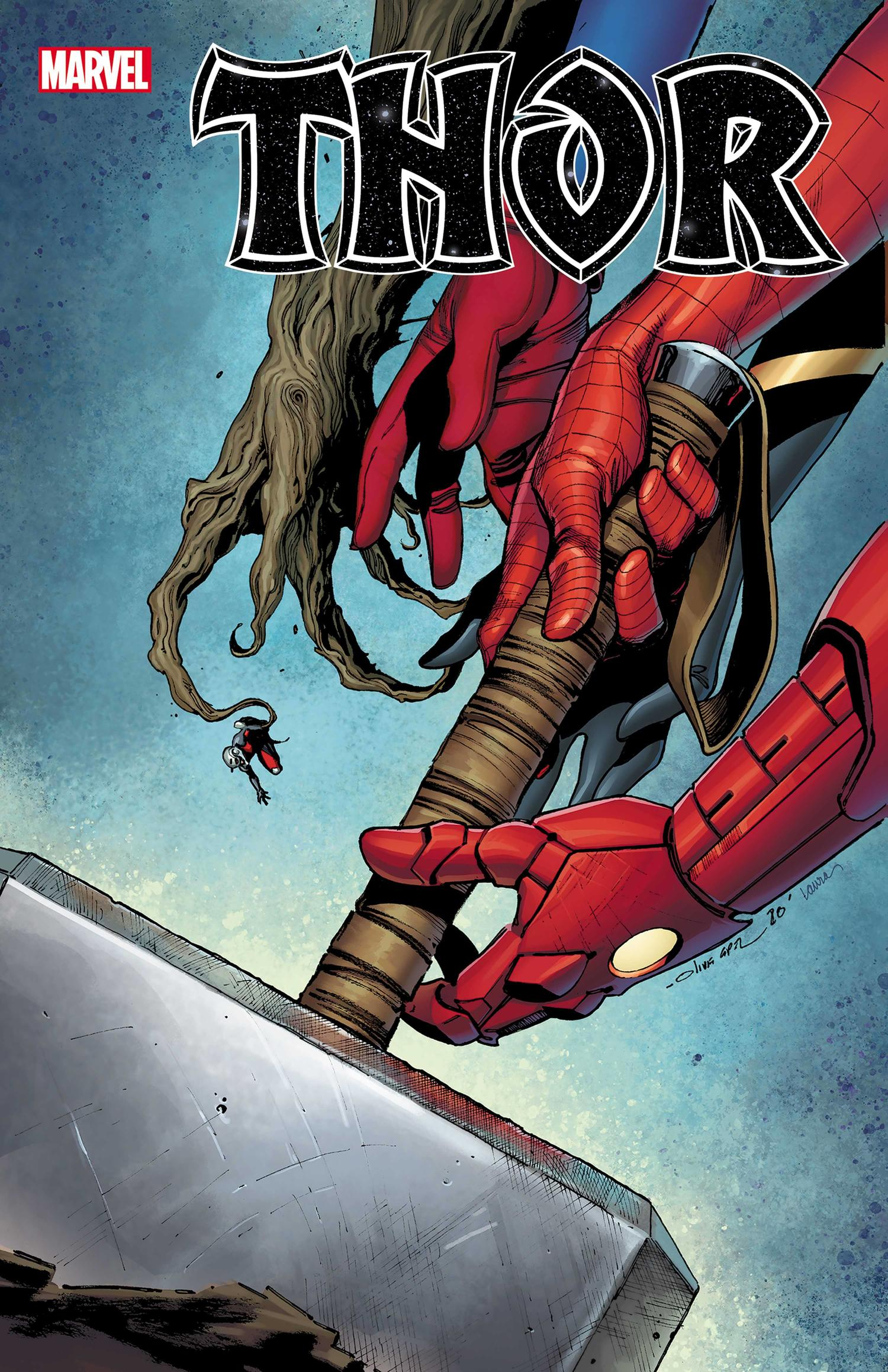 THOR #7 cover by Olivier Coipel