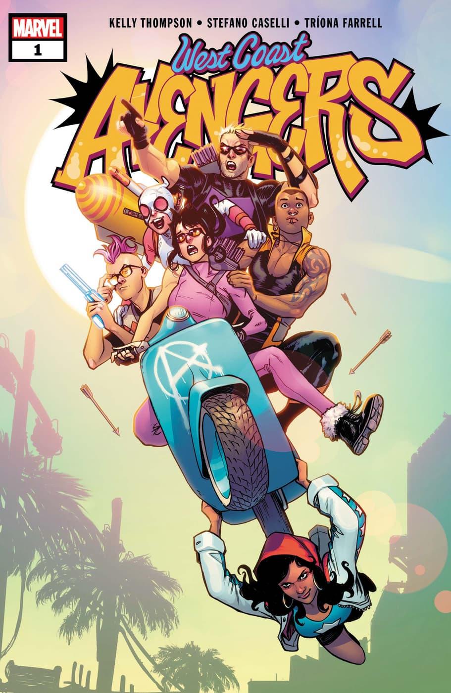 West Coast Avengers (2018) #1