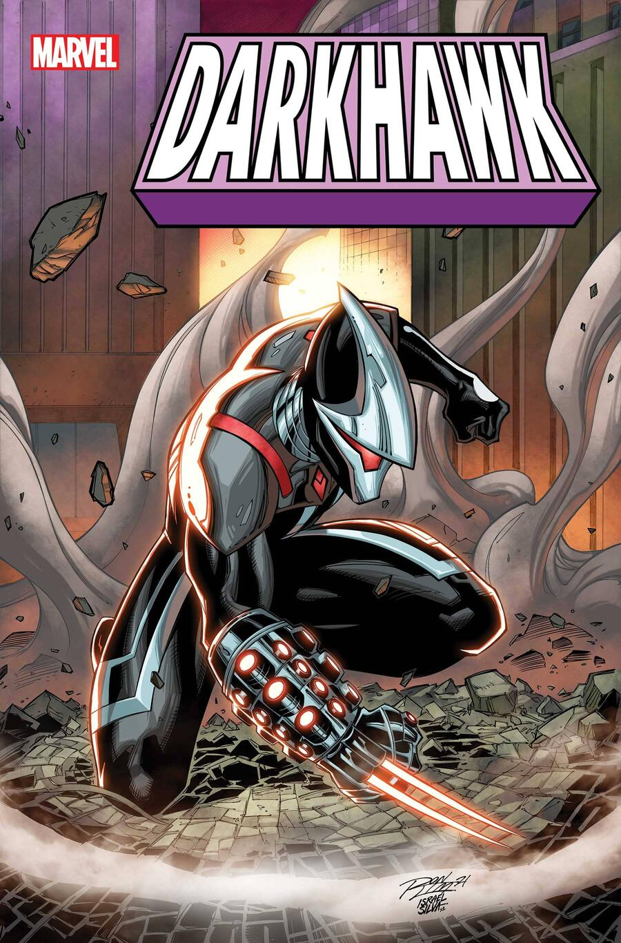 DARKHAWK #1 variant cover by Ron Lim