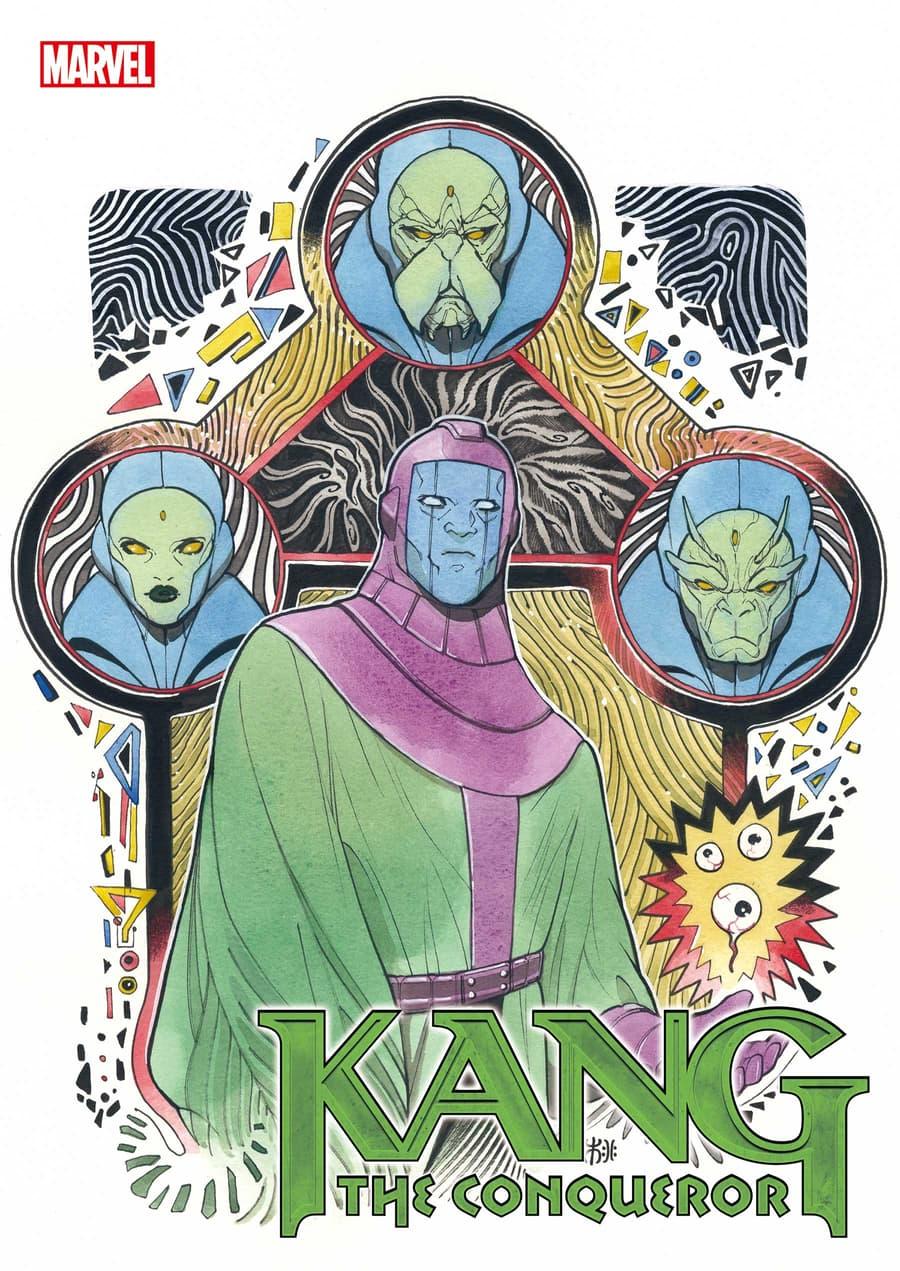 KANG THE CONQUEROR #1 variant cover by Peach Momoko