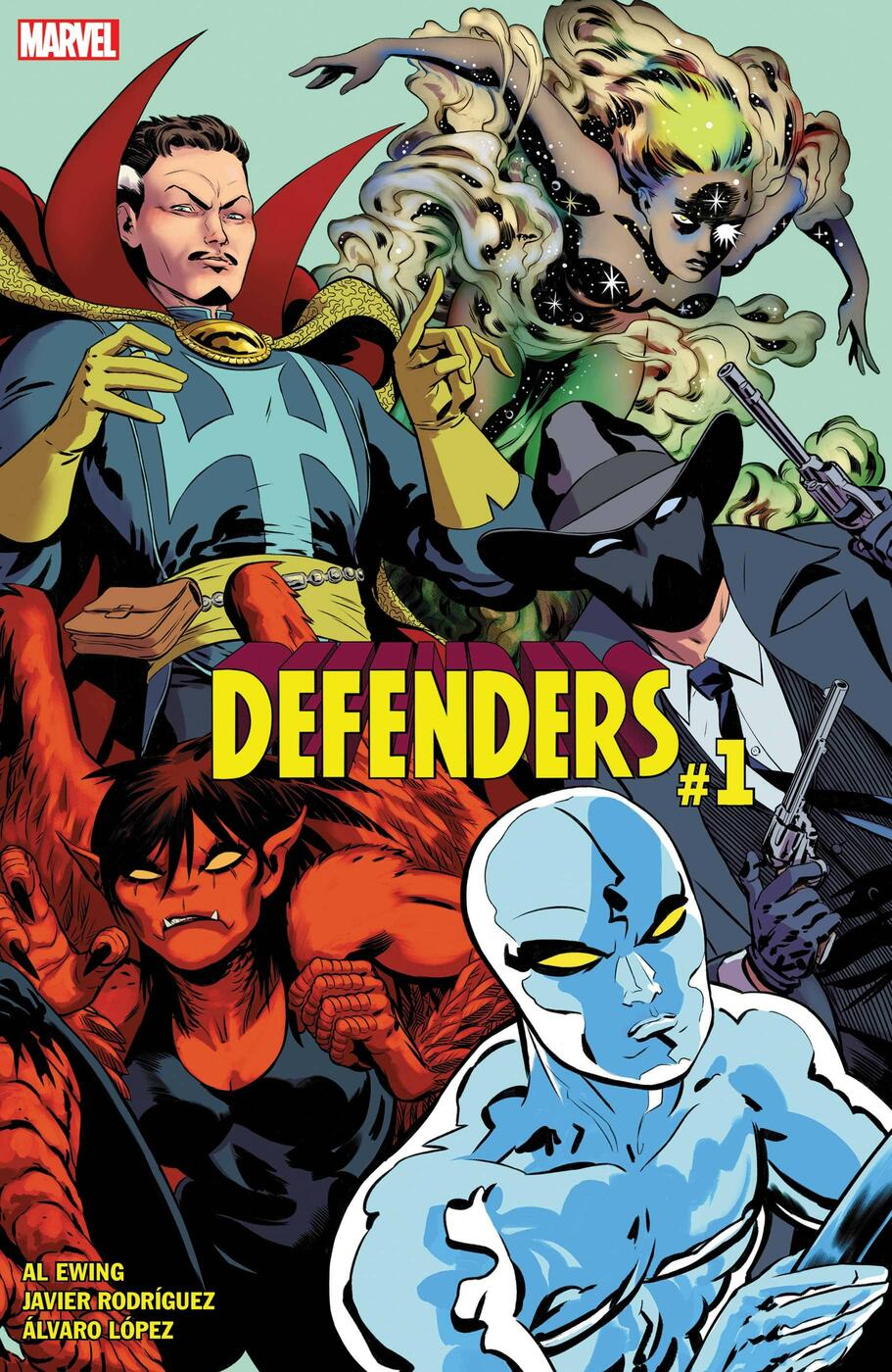 DEFENDERS #1 cover by Javier Rodriguez