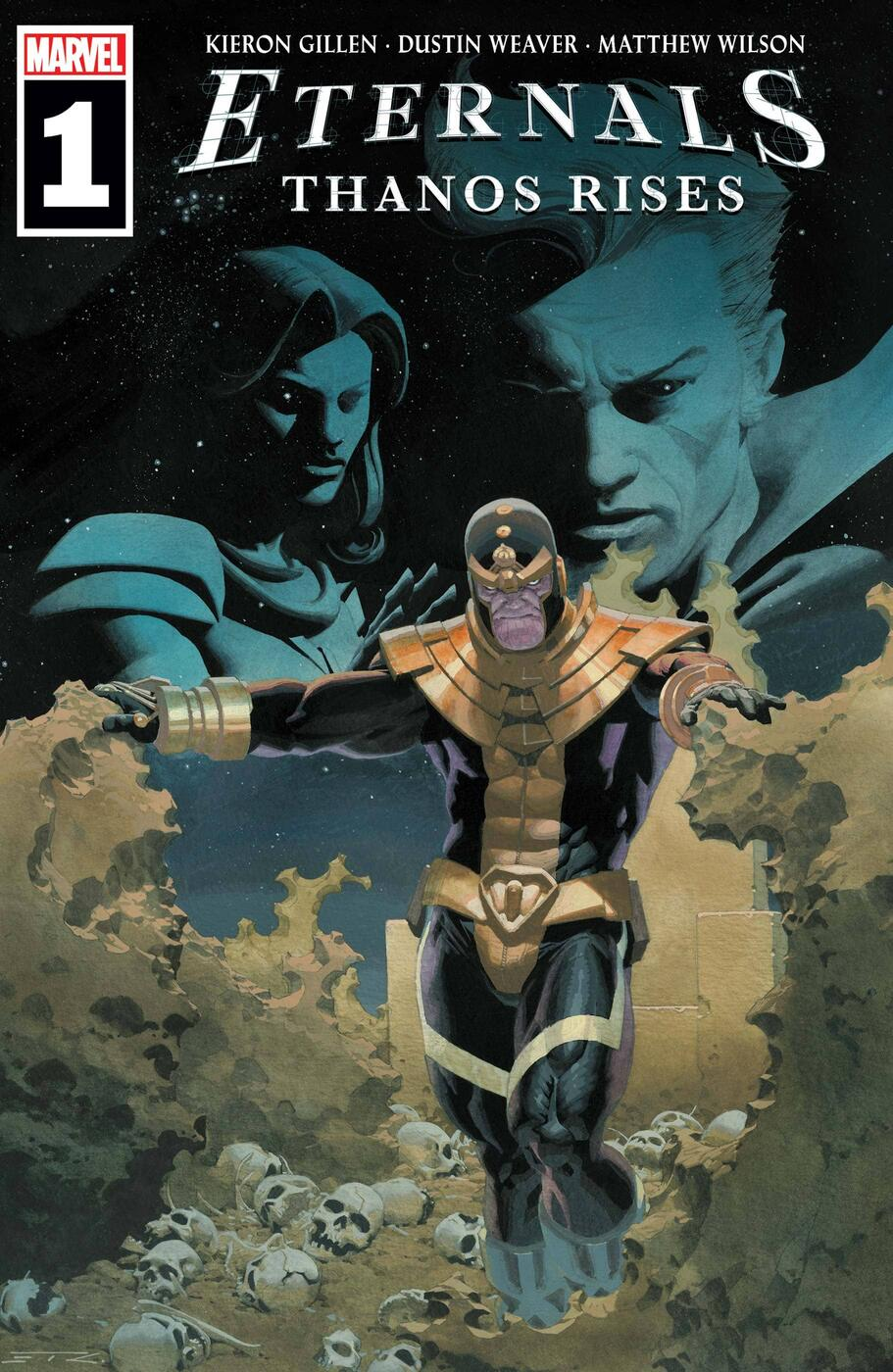 ETERNALS: THANOS RISES #1 cover by Esad Ribic