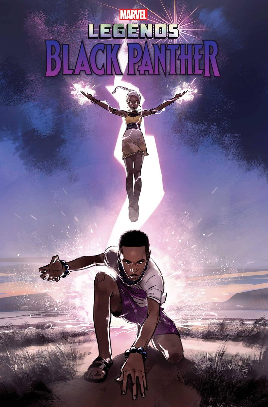 BLACK PANTHER LEGENDS #2 cover by Setor Fiadzigbey (issue #2 on sale November 10)