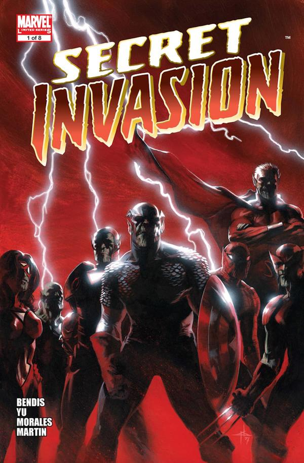 Secret Invasion (2008) #1