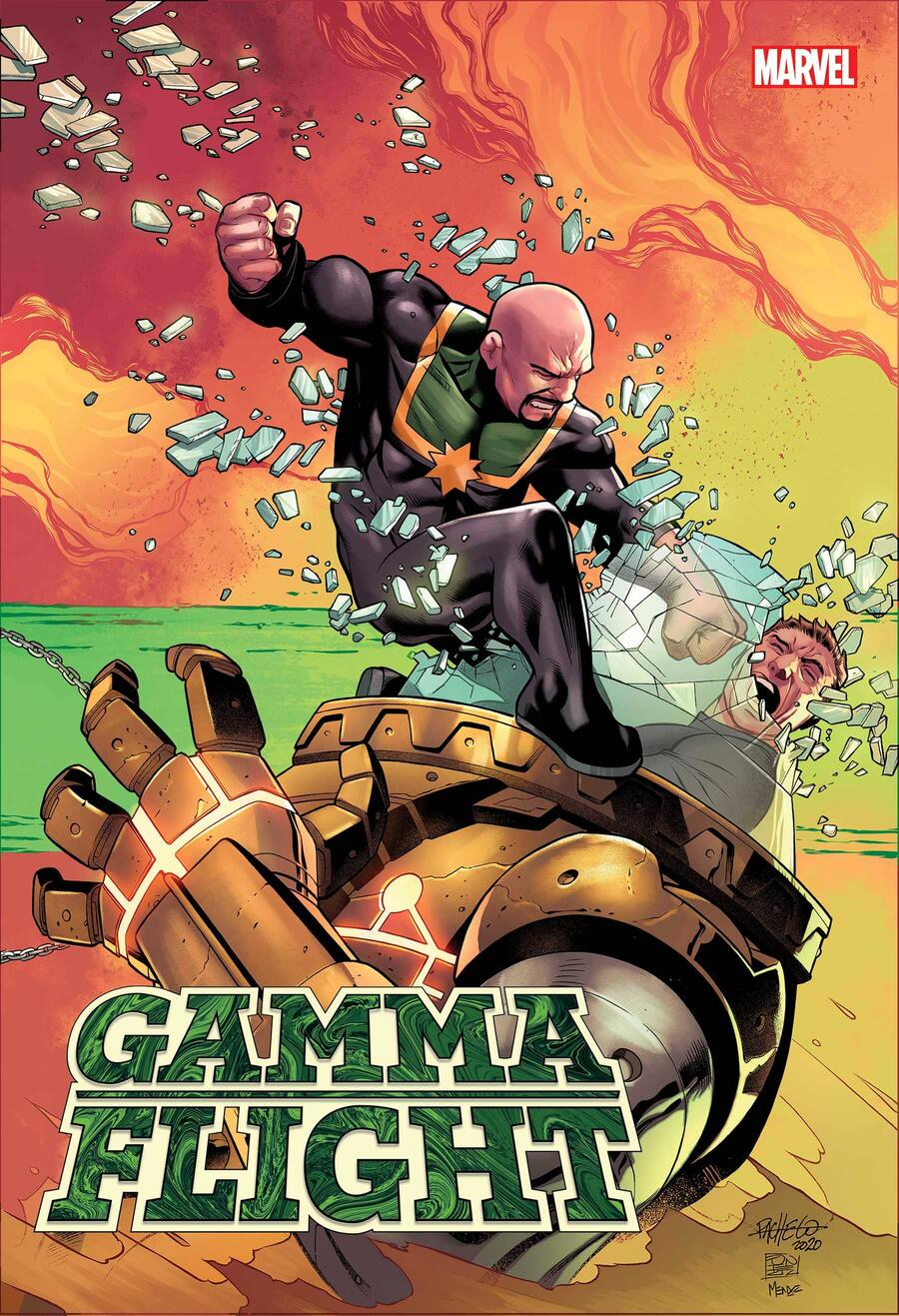 GAMMA FLIGHT #1 variant cover by Carlos Pacheco
