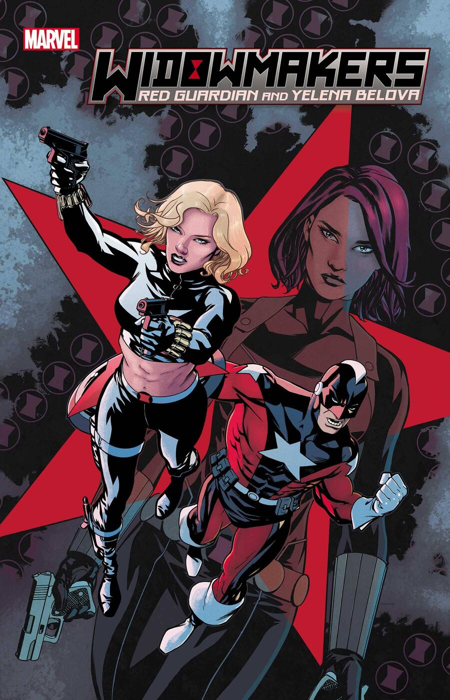 WIDOWMAKERS: RED GUARDIAN AND YELENA BELOVA #1 cover by Mike McKone and Chris O'Halloran