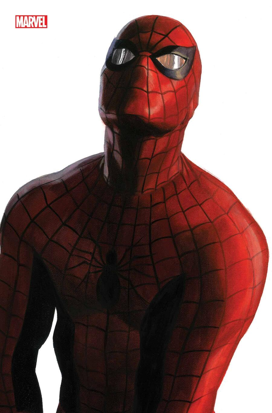 AMAZING SPIDER-MAN #50 variant cover by Alex Ross