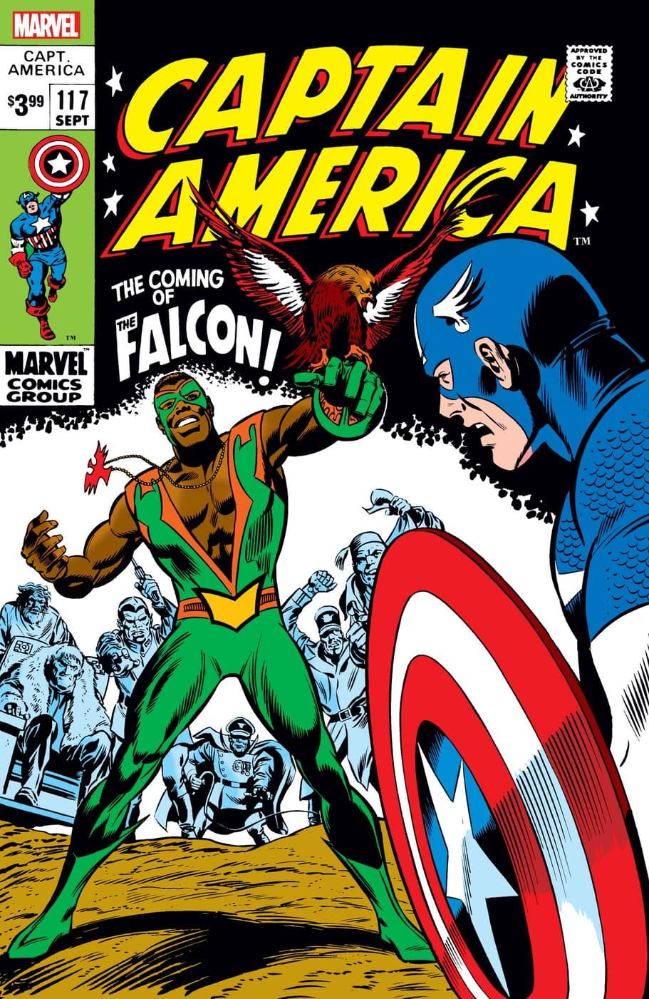CAPTAIN AMERICA #117 Facsimile Edition