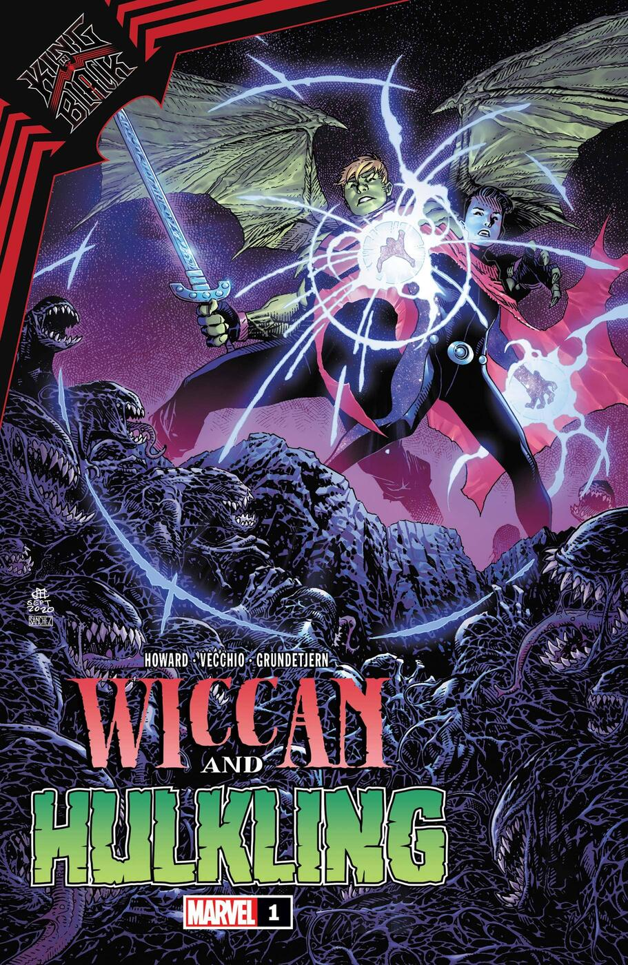 KING IN BLACK: WICCAN AND HULKING #1