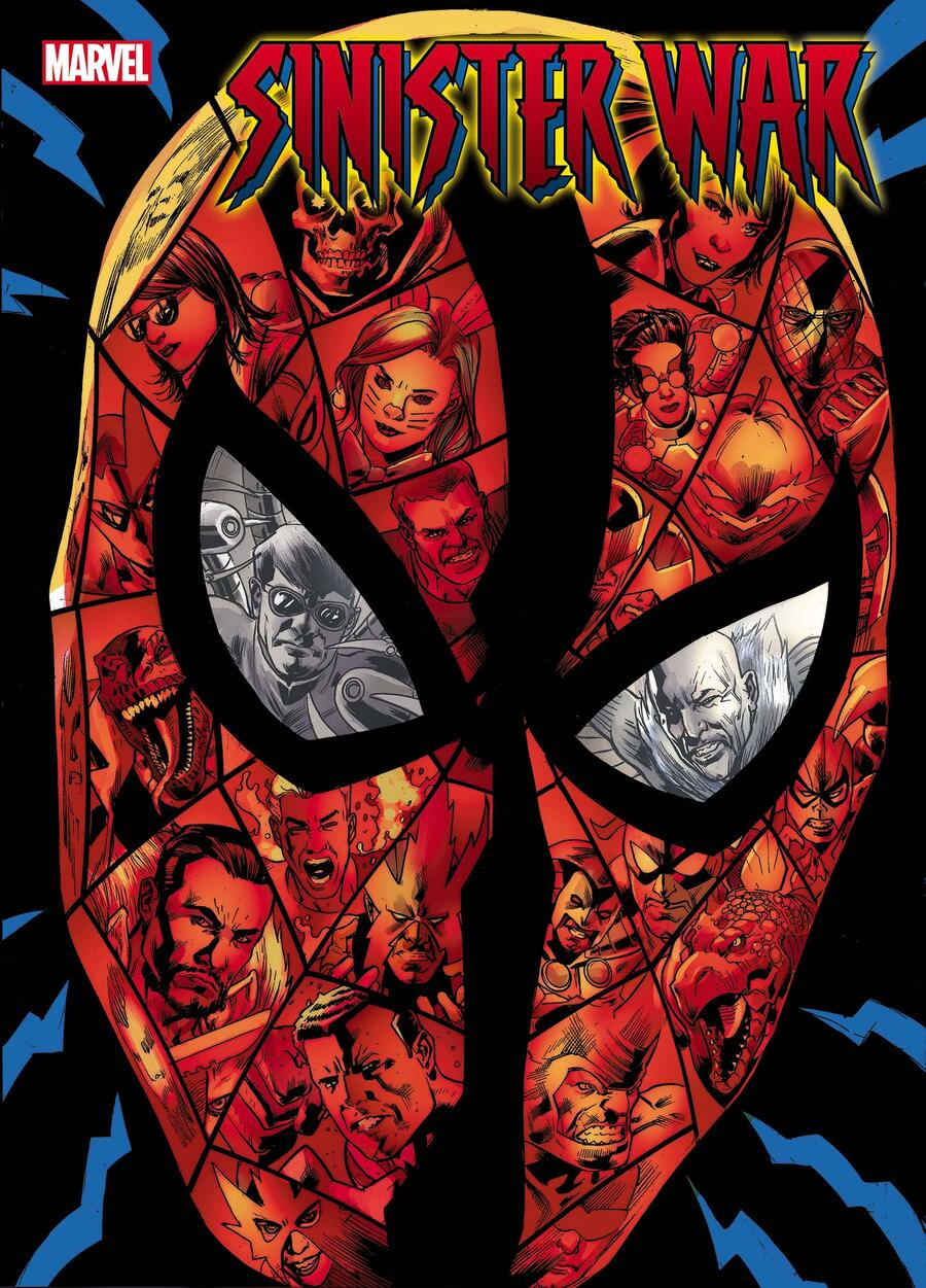 SINISTER WAR #1 cover by Bryan Hitch