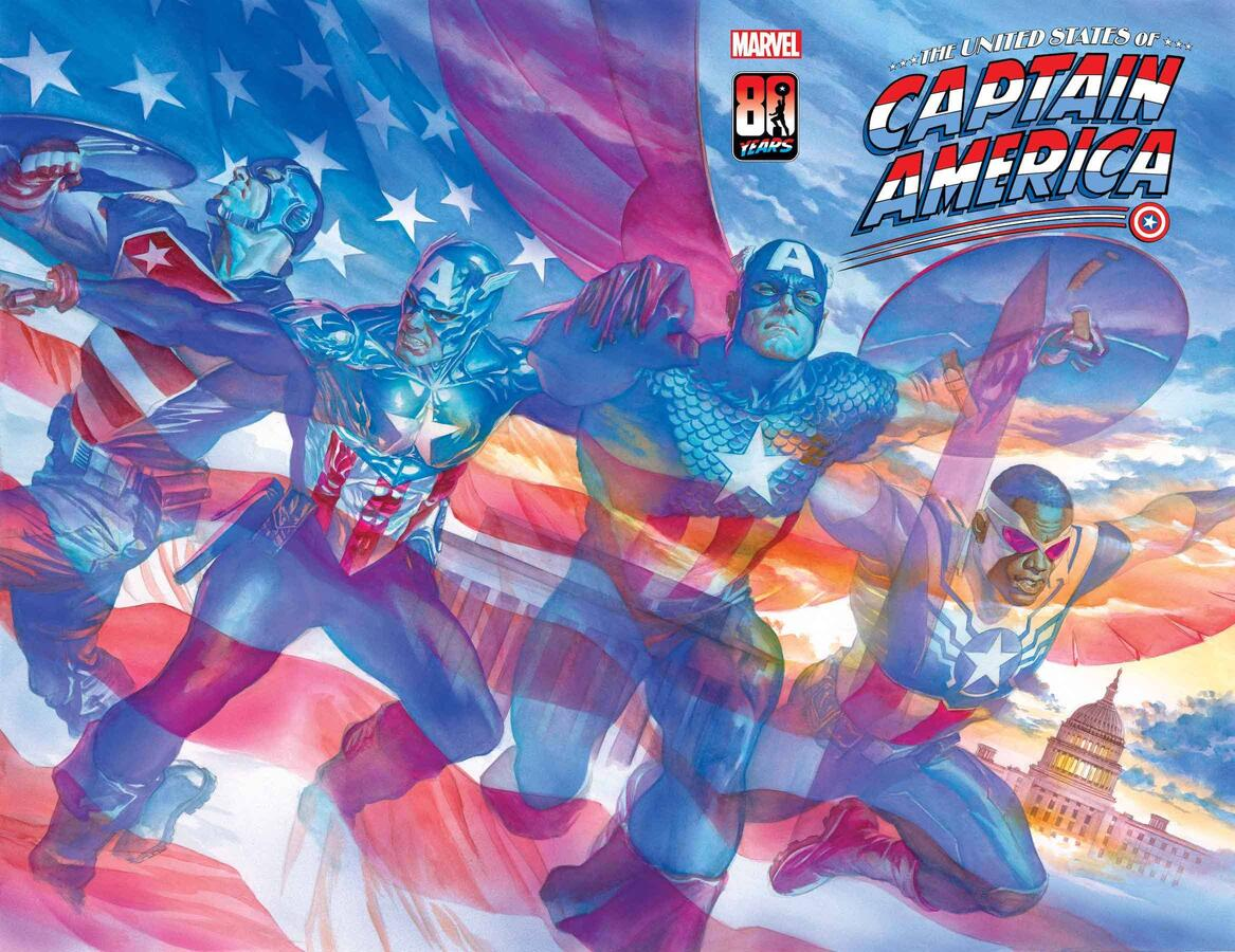 THE UNITED STATES OF CAPTAIN AMERIC