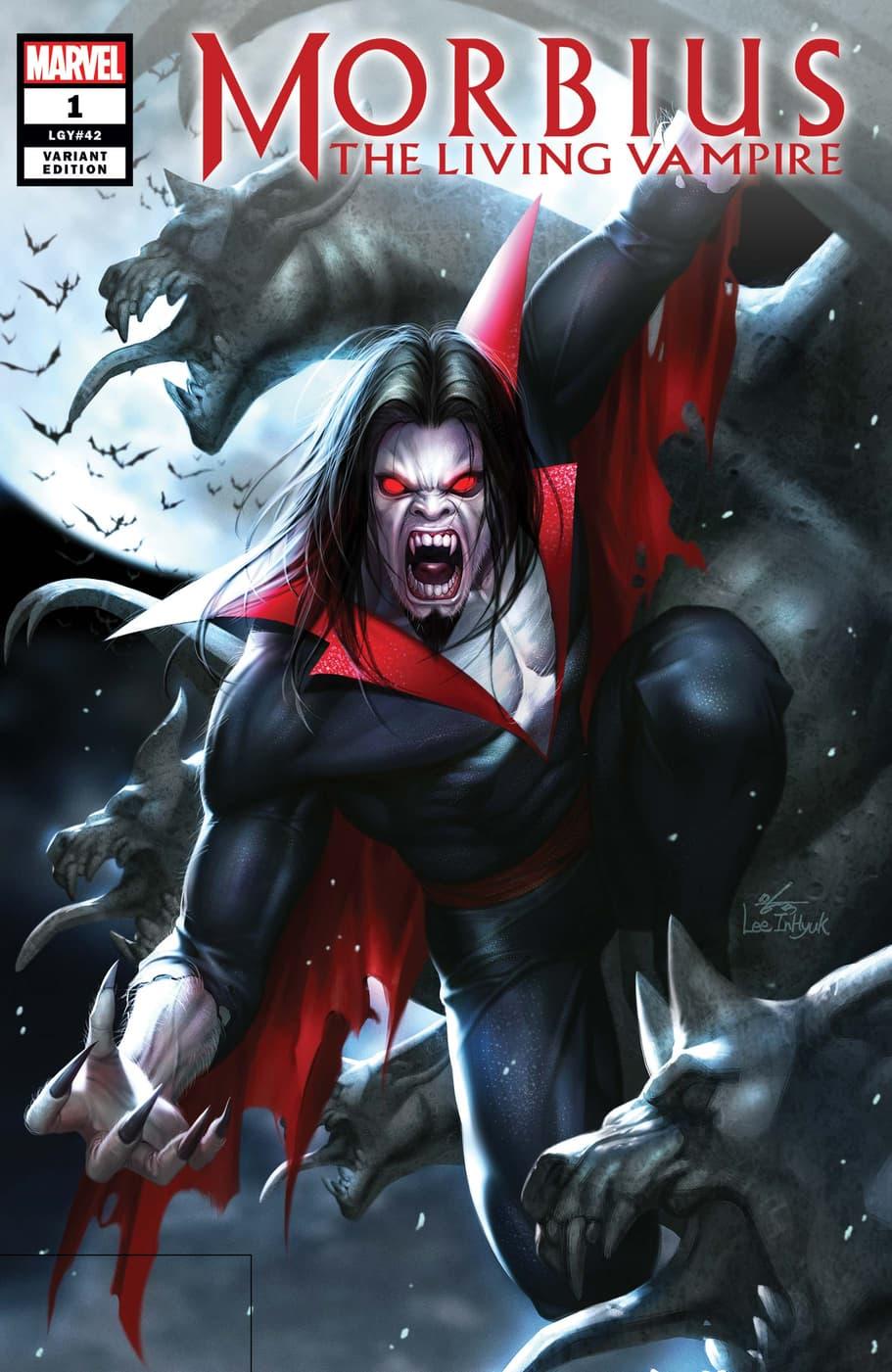 Morbius (2019) #1 variant by In-Hyuk Lee