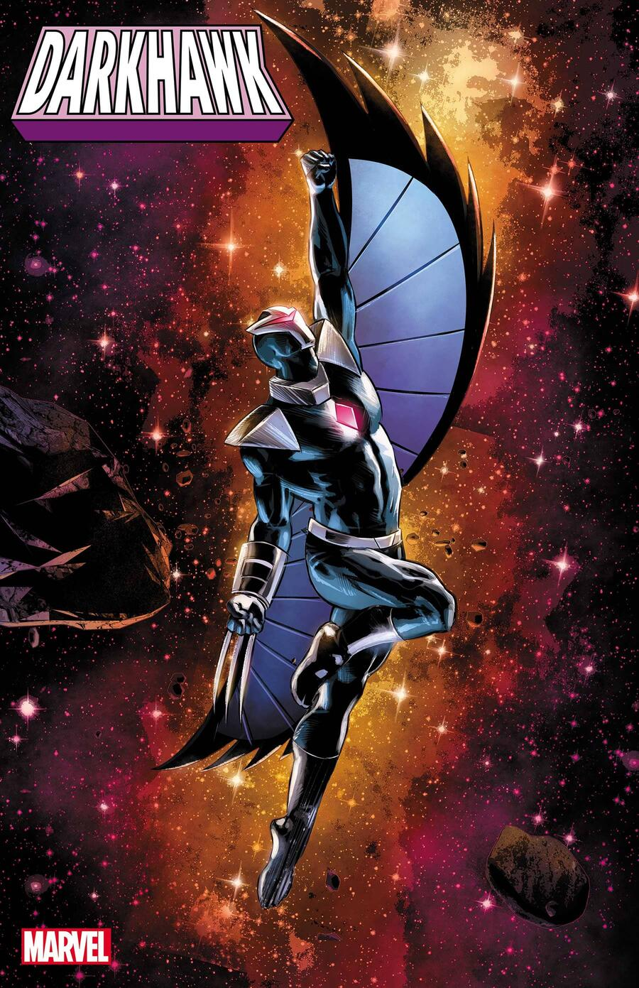 DARKHAWK #1 variant cover by Mike Deodato
