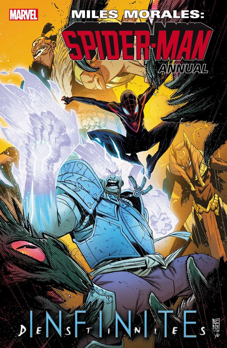 MILES MORALES: SPIDER-MAN ANNUAL #1 cover by Kim Jacinto and Felipe Sobreiro
