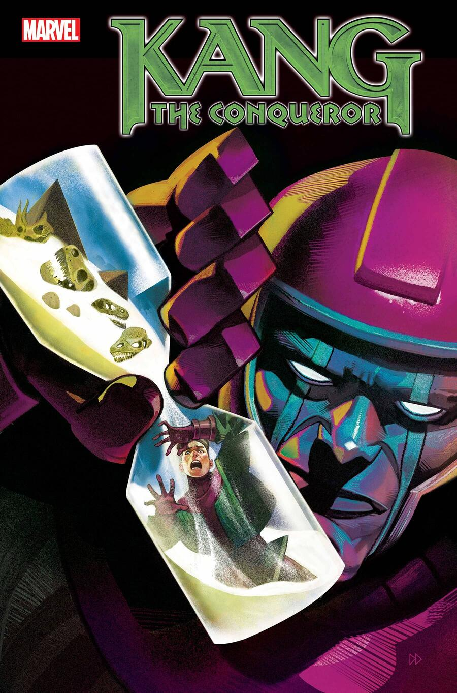KANG THE CONQUEROR#1 cover by Mike Del Mundo