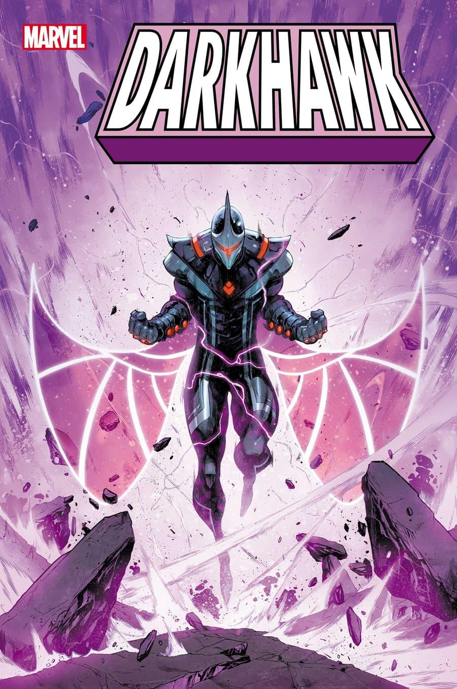 DARKHAWK #1 cover by Iban Coello
