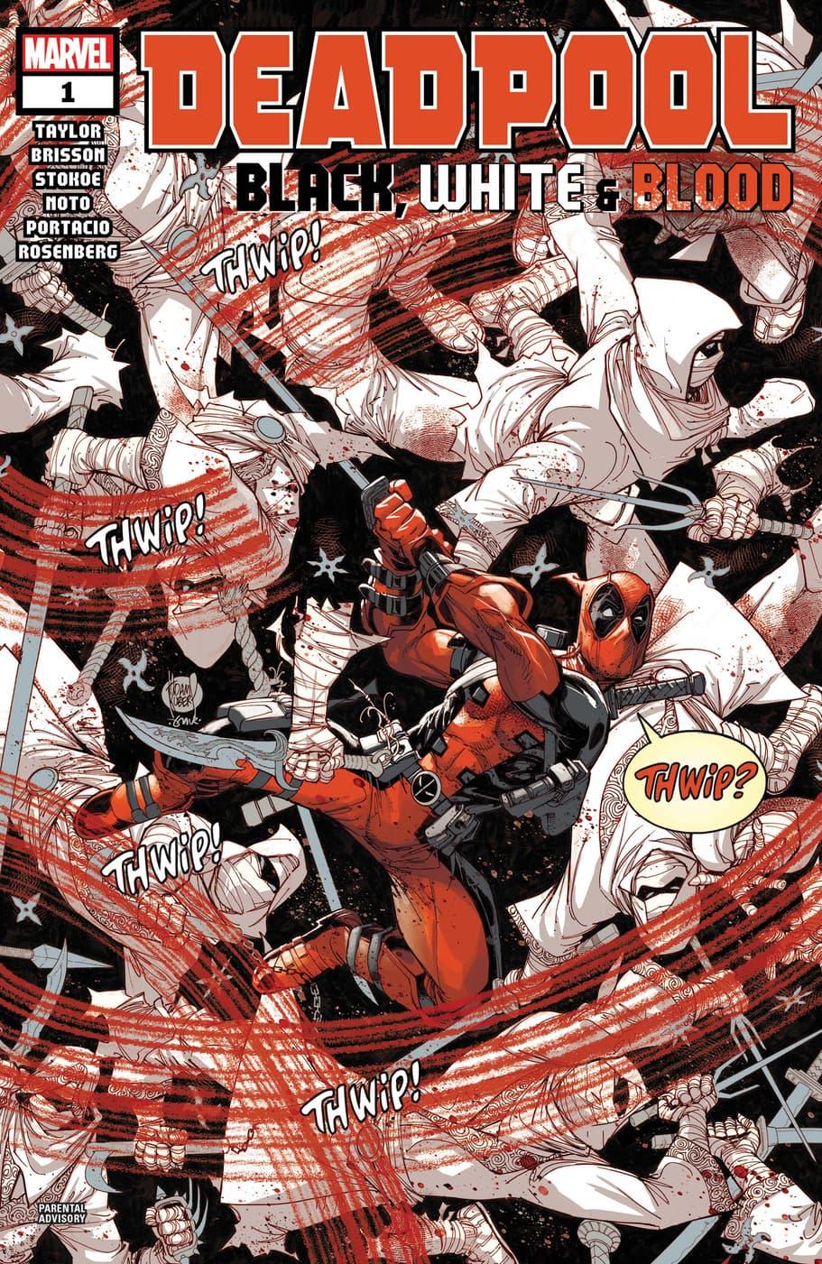 Deadpool: Black, White & Blood (2021) #1