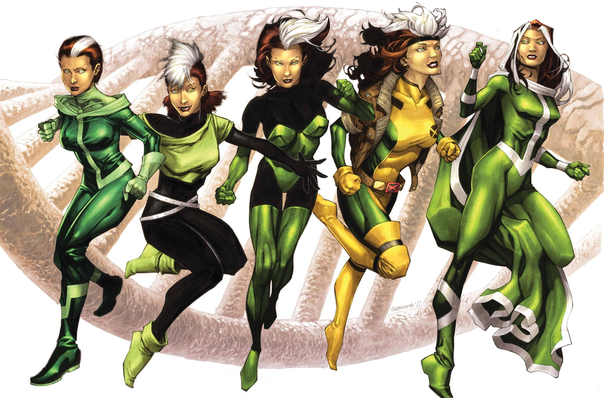 CAPTAIN AMERICA #616 - X-Men variant cover art by Chris Stevens