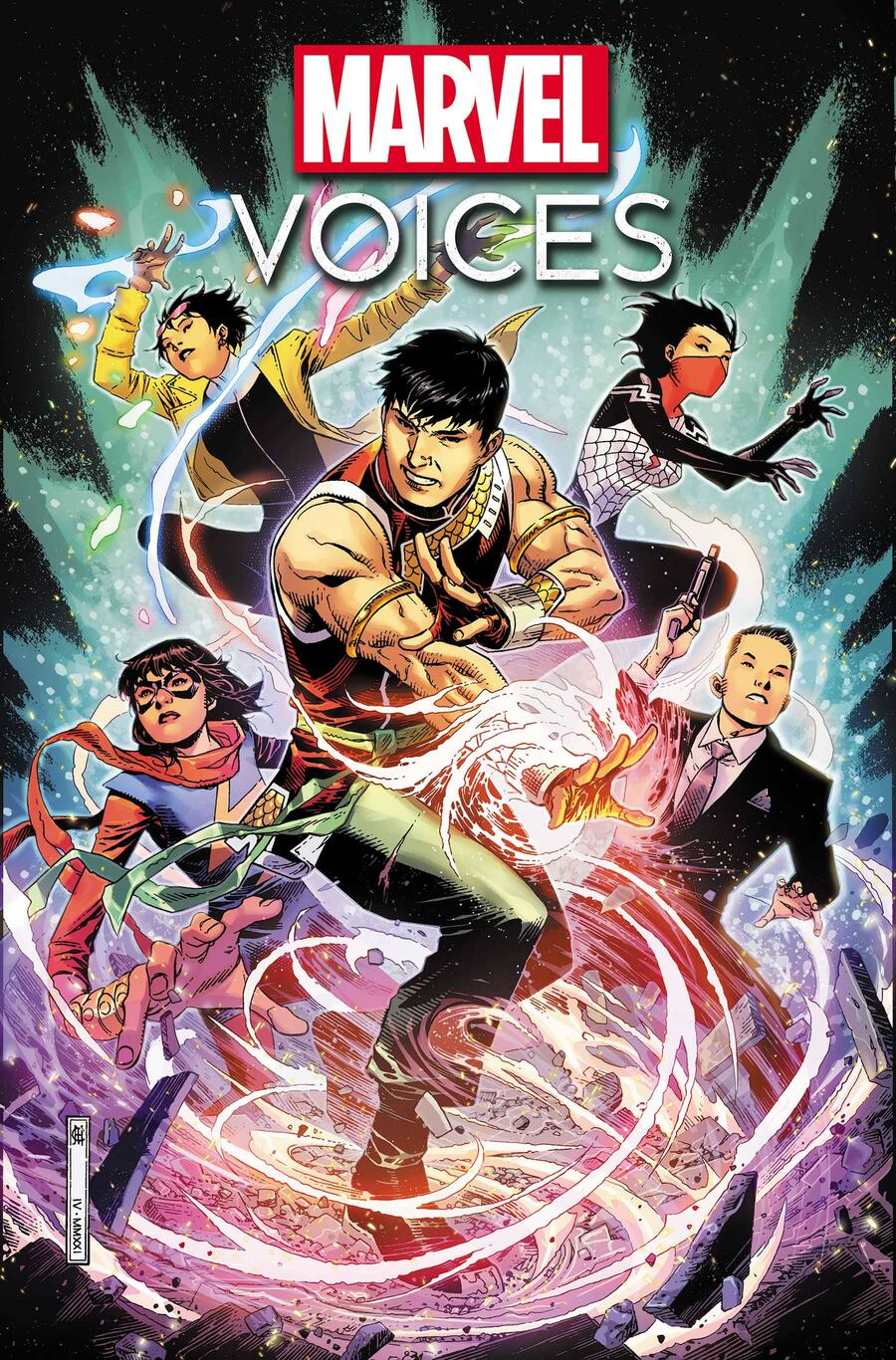 MARVEL'S VOICES: IDENTITY #1 Cover by JIM CHEUNG