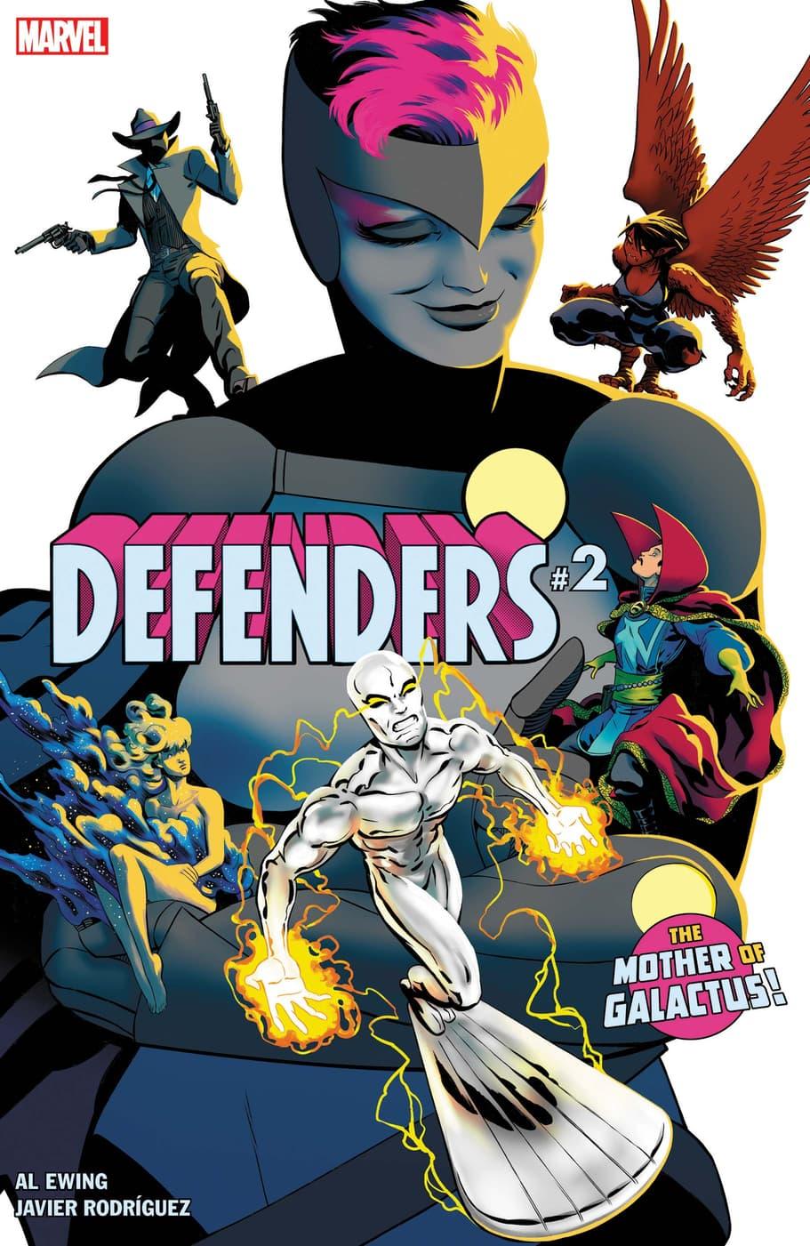 DEFENDERS #2 cover by Javier Rodriguez