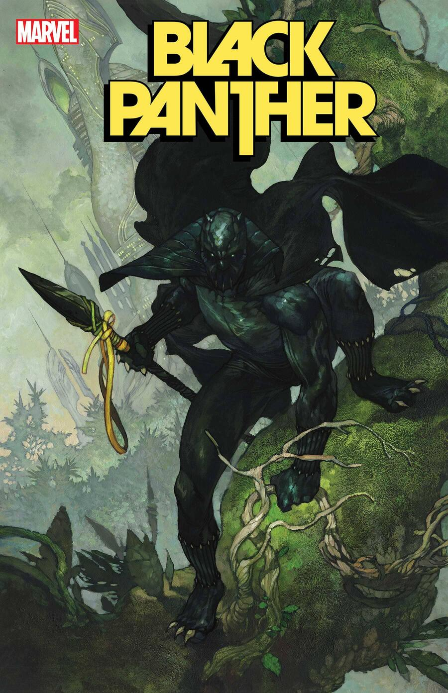 BLACK PANTHER #1 variant cover by Simone Bianchi