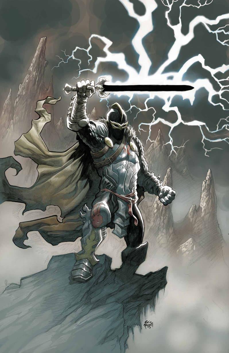 Black Knight (2015) #1 (Powell Variant)